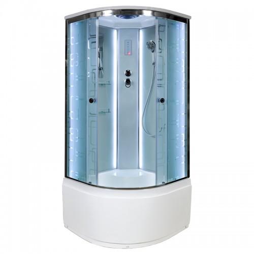 Душевая кабина Deto EM 4510 LED (100x100)